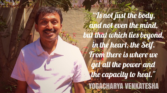 Venkatesha: Hatha Yoga Teacher in Mysore