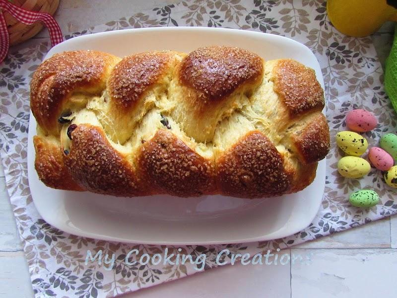 Традиционен козунак с прясно мляко и стафиди * Cozunac - Dolce pasquale della tradizione bulgara