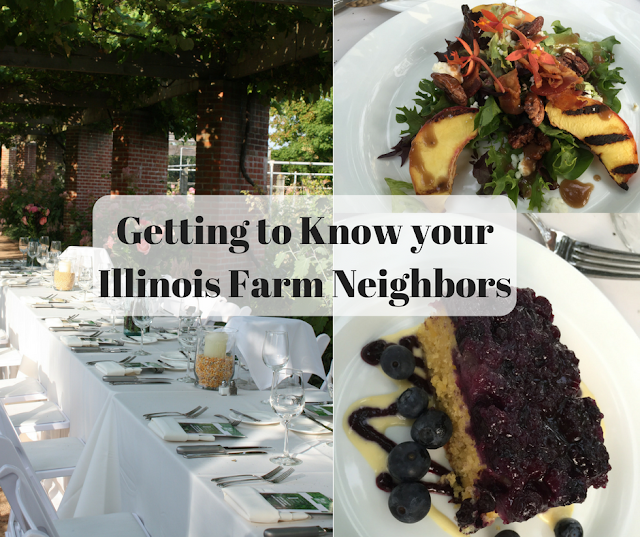 Getting to Know your Illinois Farm Neighbors a dinner with Illinois Farm Families