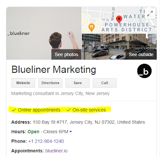 Blueliner Marketing Google My Business Profile
