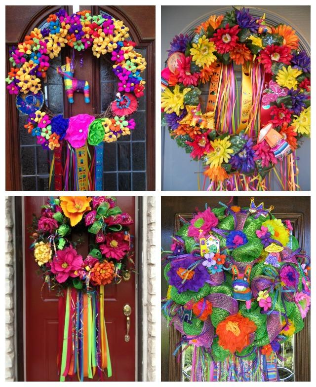 Very Fiesta Wreath! | Design Improvised SD89