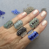 Gorgeous Statement Beaded Ring Tutorial by Bronzepony Beaded Jewelry