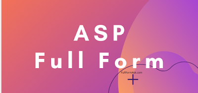ASP full meaning