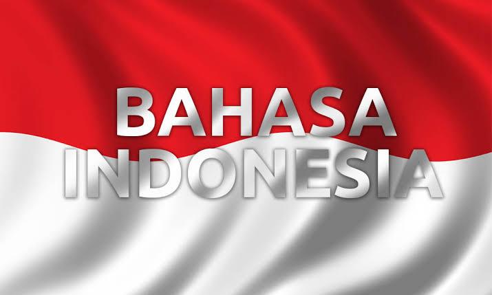 Bendera Merah Putih Bahasa Indonesia