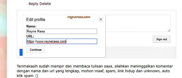 spam score pada blog