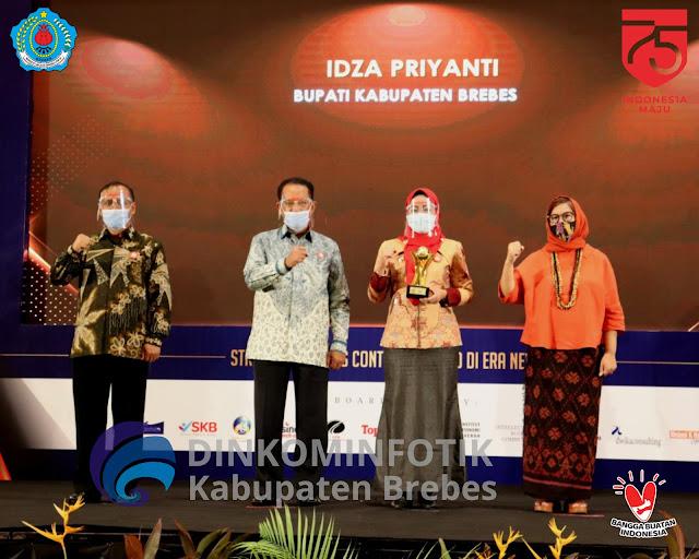 Penghargaan Nasional Bupati Brebes, TOP pembina BUMD
