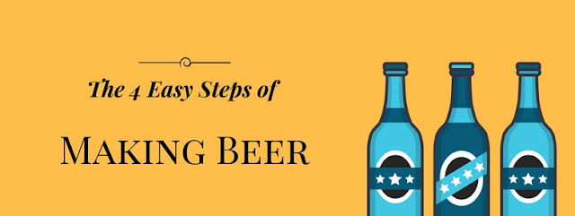 4 easy steps of making home brew beer