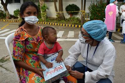 hoyennoticia.com, La pandemia no detuvo la Operación Sonrisa en La Guajira
