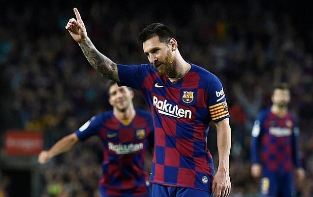 Vidéo: Découvrez le magnifique but sur coup franc de Lionel Messi