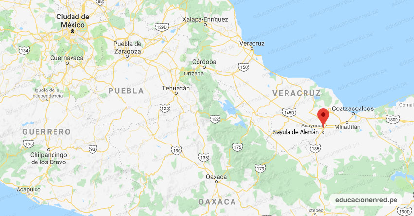 Temblor en México de Magnitud 4.1 (Hoy Lunes 29 Marzo 2021) Sismo - Epicentro - Sayula de Alemán - Veracruz de Ignacio de la Llave - VER. - SSN - www.ssn.unam.mx