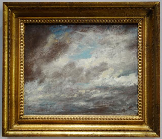Etude de Ciel, John Constable, exposition Jardins, Grand Palais