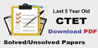 Previous Paper of CTET