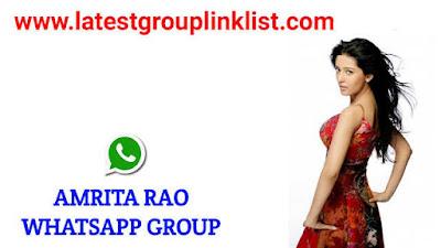 Join Latest Amrita Rao Fans Whatsapp Group Link 2021
