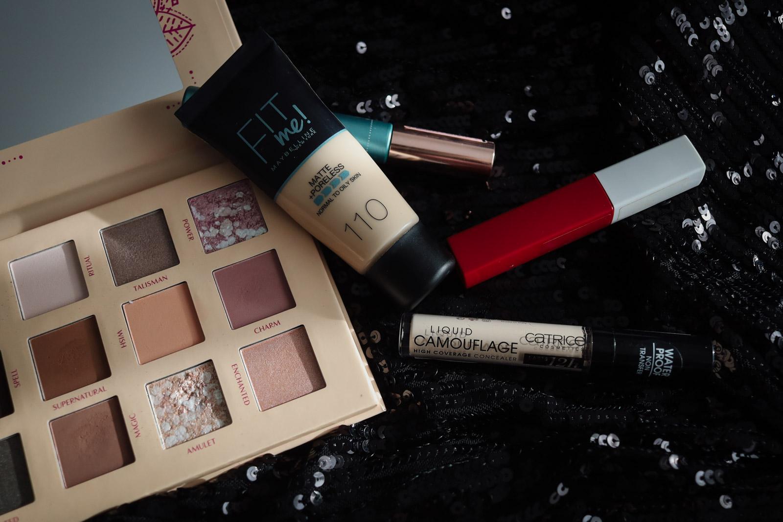 Maquilhagem essence, Catrice, L'Óreal Paris & Maybelline