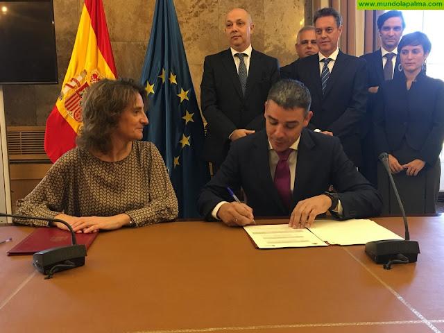 Canarias garantiza una inversión estatal de 915 millones de euros para obras hidráulicas durante los próximos 12 años