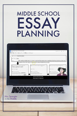 Help your middle school students get over these three essay planning hurdles!