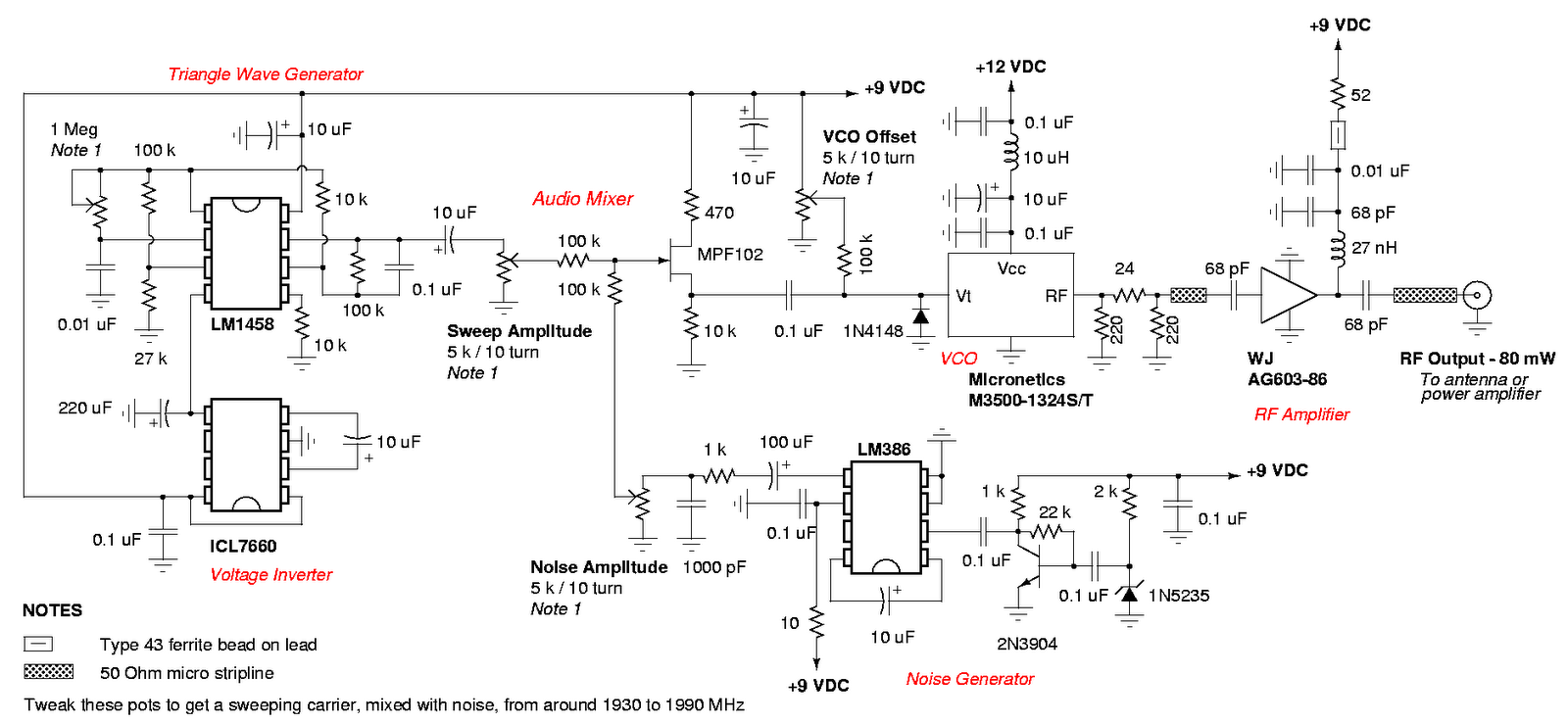 GSM Cell Phone Jammer Circuit