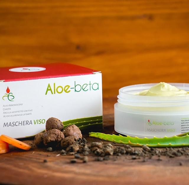 Maschera viso con Aloe Arborescens Bio