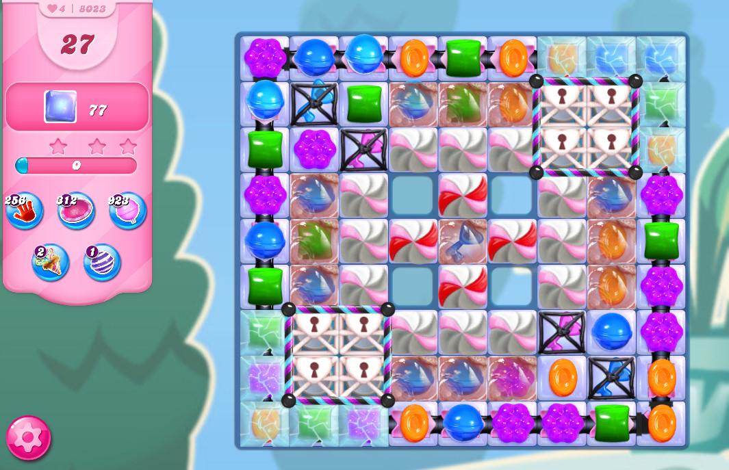 Candy Crush Saga level 8023
