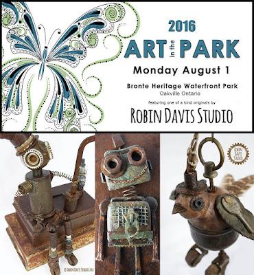 Robin Davis Studio - Art in the Park
