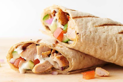 Resep Chicken Shawarma Enak dan Lezat
