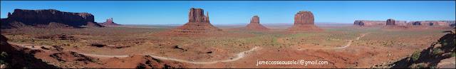 Les buttes de Monument Valley