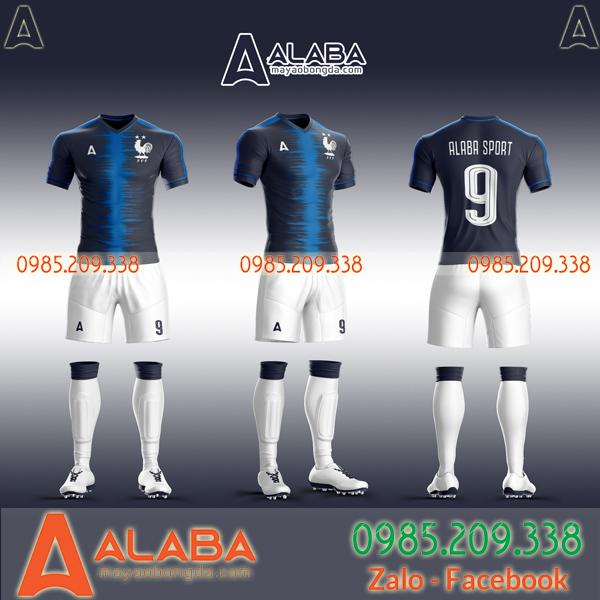 Quần áo đá bóng đội tuyển Pháp 2020