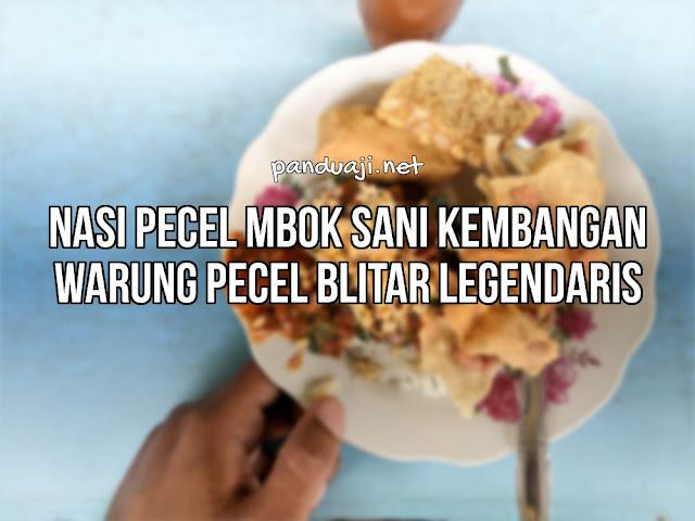 Nasi Pecel Blitar Legendaris