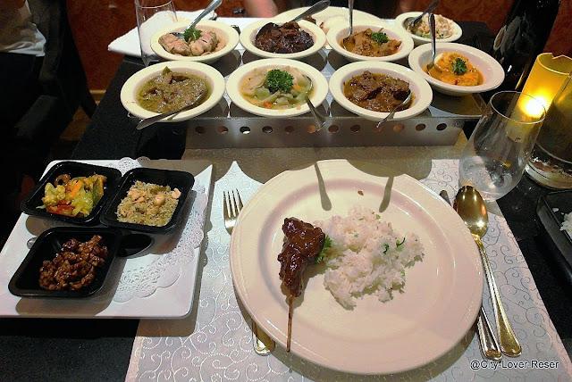 äta indonesisk mat i Amsterdam