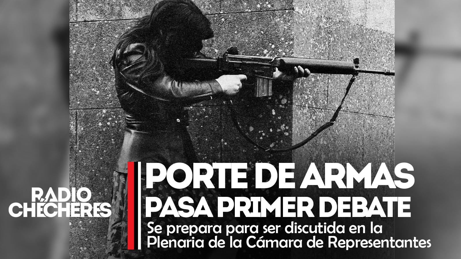 #Colombia | Aprueban en primer debate proyecto que busca flexibilizar porte de armas