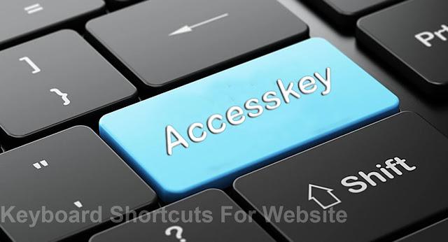 Membuat Accesskey website