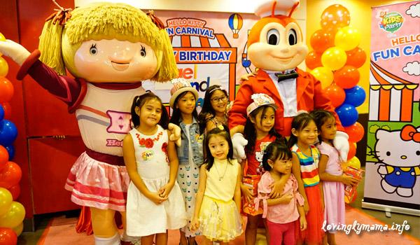 Jollibee Kids Party - Hello Kitty Fun Carnival Theme