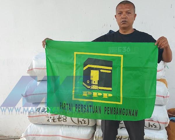 JUAL BENDERA-PARTAI-PPP UKURAN 90X60CM