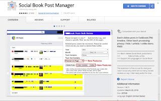 Cara Menghapus Semua Postingan Di FB