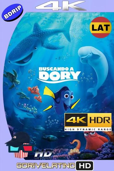 Buscando a Dory (2016) BDRip 4K HDR Latino-Ingles MKV