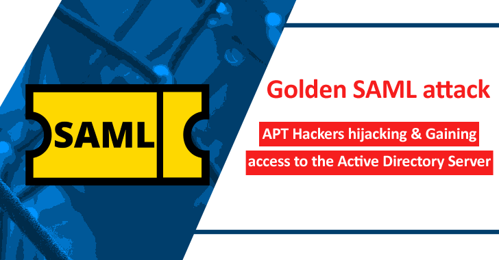 Golden SAML Attack – APT Hackers Hijacking & Gaining Access To The Active Directory Server