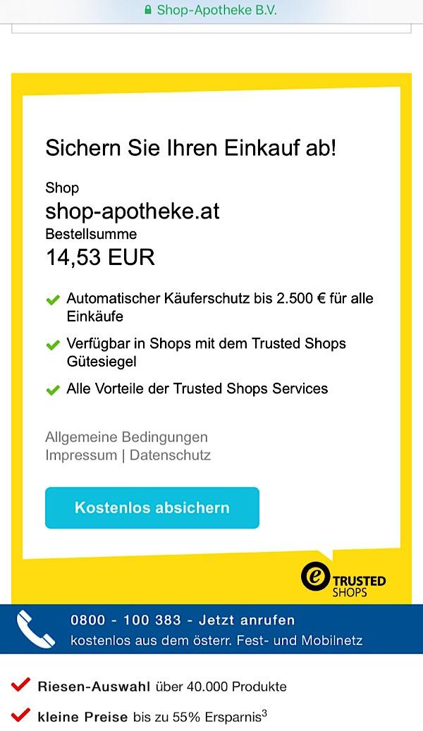 Käuferschutz mit Trusted Shops