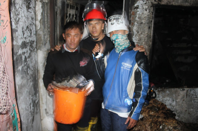 Satpam STTC Selamatkan Uang Ratusan Juta, Dokumen dan Barang Berharga Kebakaran di Jalan Mufakat