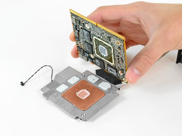 """iMac Intel 21.5"""" EMC 2428 GPU Card Replacement."""