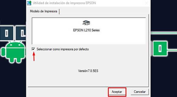Descargar el paquete EPSON Universal Print Driver