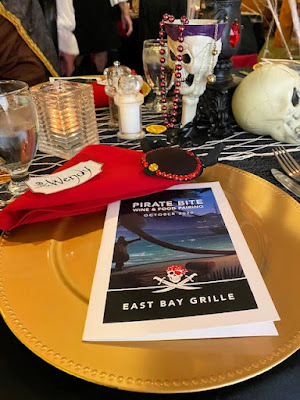 Place setting at dinner party
