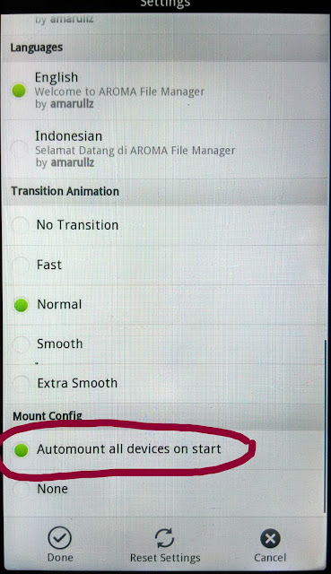 Aroma Manager
