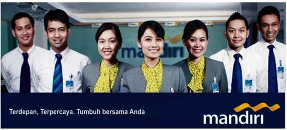 Lowongan Kerja - Lulusan SMA dan D3 - PT Bank Mandiri (Persero) Tbk
