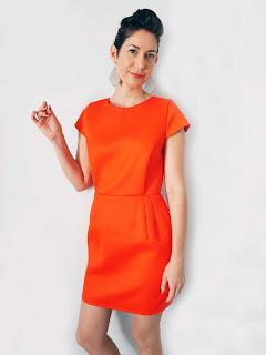 ékicé collection créatrice vêtements créateur Paris slowmade couleur artisanat fabriqué en France robe rouge