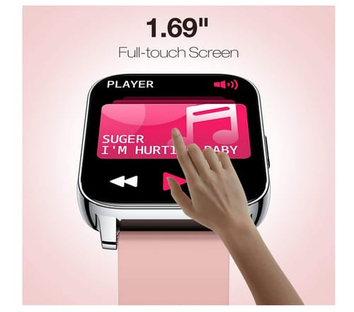 AllCall 2021 Smart Watch Fitness Tracker for Men Women