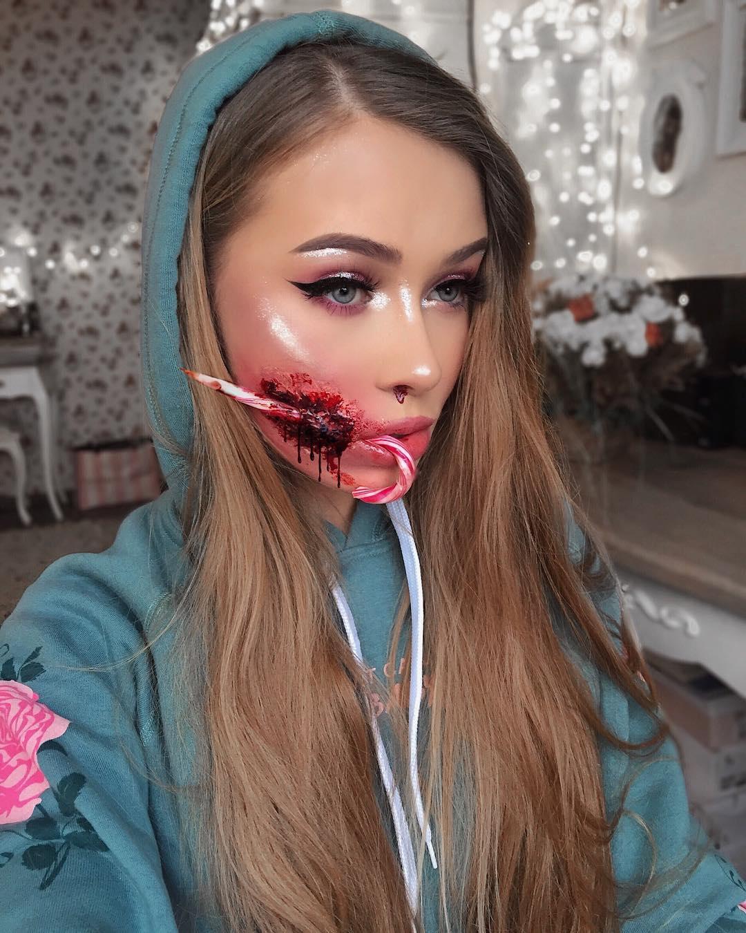 impresionantes-ilusiones-ópticas-con-maquillaje-artista-Monika-Falčik