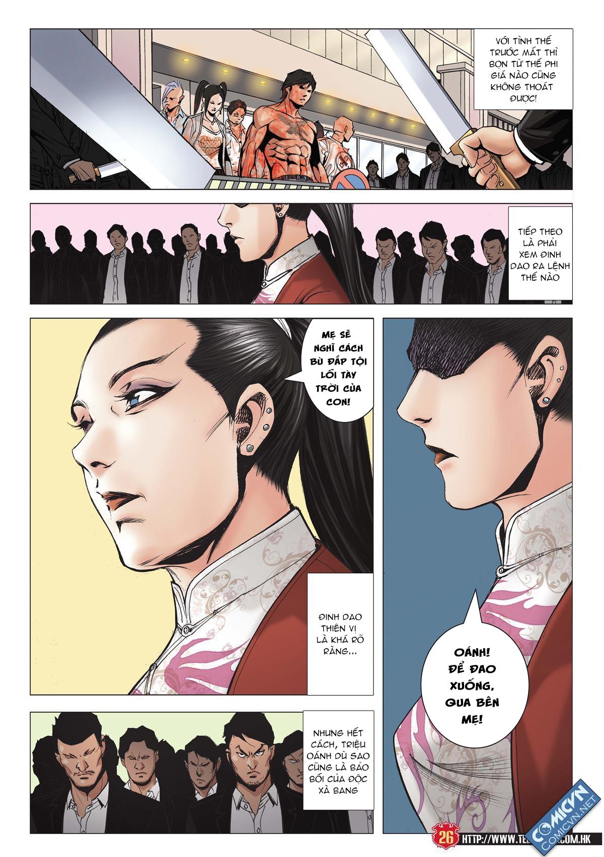 Người Trong Giang Hồ chapter 1997: triệu oánh vs đinh dao trang 24