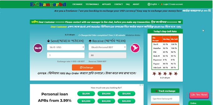 Trusted Dollar Buy Sell & Exchange in Bangladesh