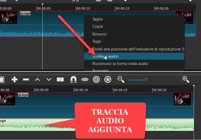 scollegare-traccia-audio