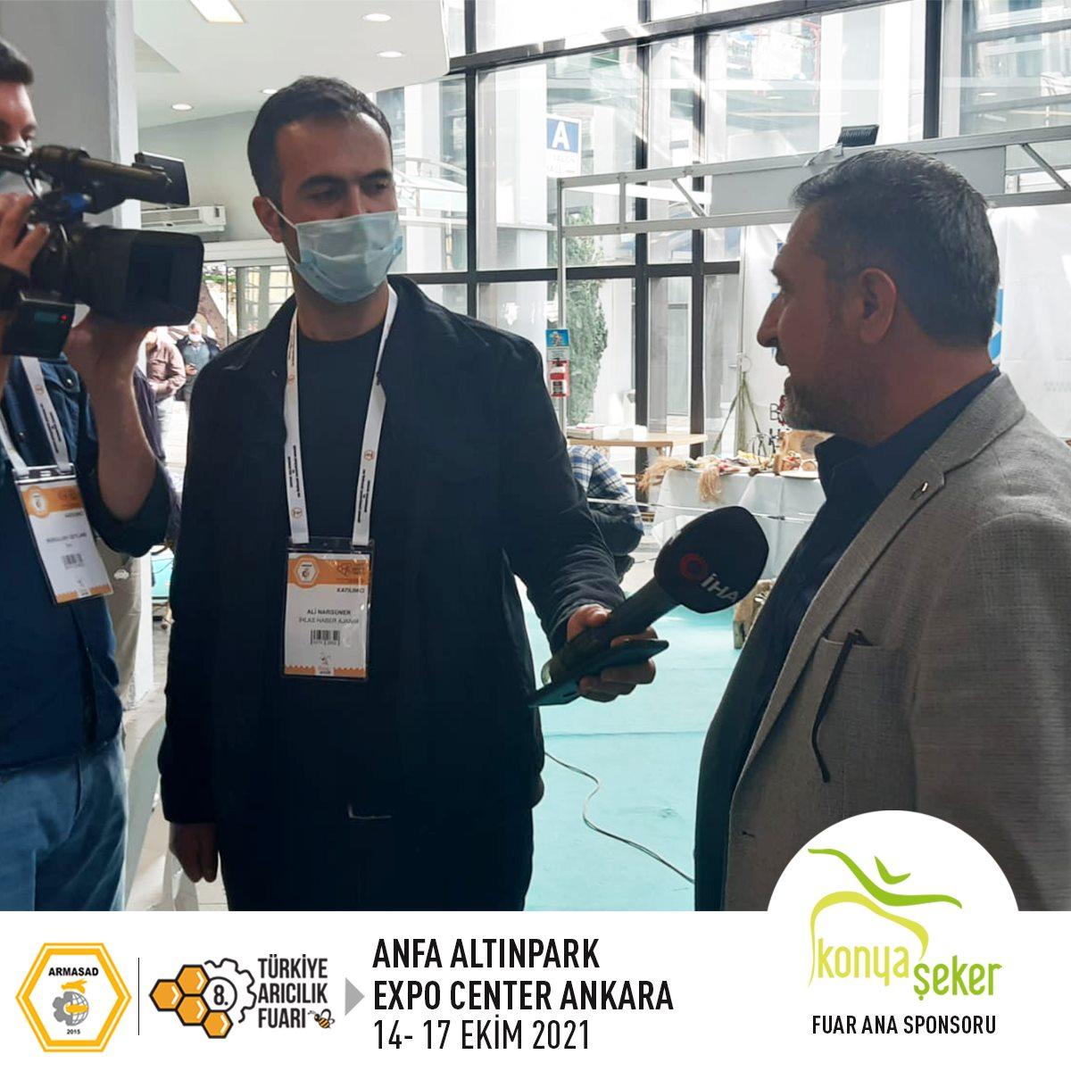 Armasad 8.Türkiye Arıcılık Fuarı 2021 ANKARA Altınpark fuar alanı, ihlas haber ajansı